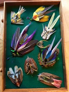 Stuart Hardy Classic and Artistic Salmon Flies