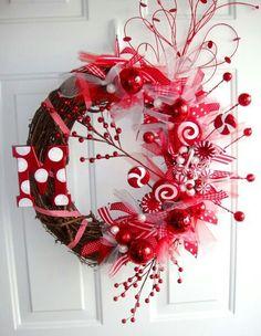 Linda guirlanda!  Escreva sua CartinhaaoPapaiNoel.com.br  Navidad - Xmas - Christmas - Natal -