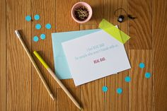 Greeting card love from Colette Paperie   www.colettepaperie.com   $4.00 per card   Use code SUPER for 15% off your order