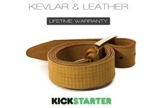 The Indestructible Kevlar & Leather Belt | THE UT.LAB | KEVLAR | Get Creative with our Materials *