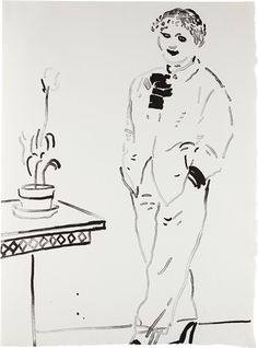 David Hockney - Celia Amused, 1979, Lithograph, on...
