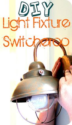 How to Replace a Sconce Light: DIY Light Installation Tips Diy Light Fixtures, Paint Colors For Living Room, Room Paint, Sconce Lighting, House Lighting, Home Repairs, Light Installation, Home Projects, Craft Projects