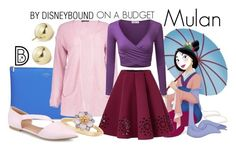 Disney Character Costume Disney Bound: Mulan from Disney's Mulan (On A Budget Outfit) Disney Bound Outfits Casual, Cute Disney Outfits, Disney Themed Outfits, Disney Dresses, Cute Outfits, Disney Clothes, Disney Character Outfits, Disney Characters Costumes, Character Inspired Outfits
