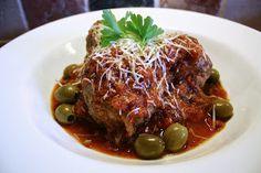 Italian Meatballs - sin breadcrumbs - a little bit of cheese.