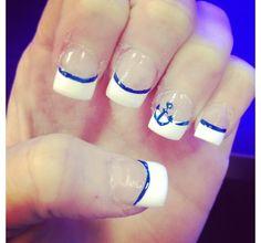Anchors - nails & clothes