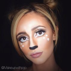 Oh Deer!  Saw this look on Pinterest and had to recreate it so hope you guys…