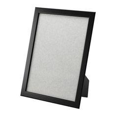 "IKEA 8.5 x 11"" Wooden Picture Frame FISKBO, Black Free Shipping #IKEA"