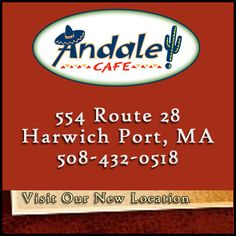 Cape Cod Daily Deal with Andale Cafe. If you're looking for authentic Mexican food on Cape Cod, then this is the place for you! Try one of our great Margaritas or Mexican Beers in our bar! Cape Cod Restaurants http://www.capecoddailydeal.com/