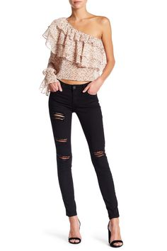 Piper Distressed Skinny Jeans