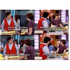 Drake & Josh. You know sometimes your sarcasm hurts.