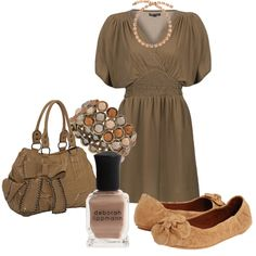 """""""pink and brown"""" by jewhite76 on Polyvore"""