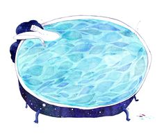 Colorhood - Night Bath by Madalina Andronic