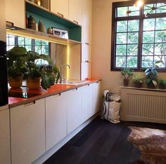 Kitchen renovation project by French interior designer Emilie Fournet using Formica laminates http://buzz.mw/b1a5i_n #kitchendesign #homedesign