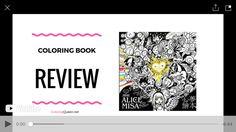 Alices Adventures in Wonderland Alice Misa - Taiwan Coloring Book Review 感謝Leanne King的來信訂購Alice misA心夢繪本 透過外國朋友分享,很開心能讓更多海外讀者認識我的作品 未來繼續創作更有意思的作品與大家分享^^ Coloring Queen   Youtube https://www.youtube.com/watch?v=NMZWrNWlam4&feature=youtu.be