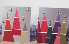 After: Festive Tree Cards