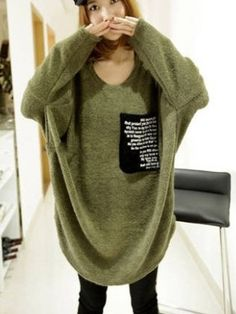 Cheap Casual Round Neck Long Sleeve Blended  Shirt Blouses from stylishplus.com