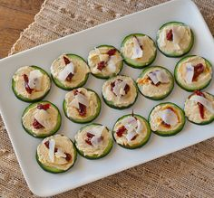 A Luxurious Appetizer That Only Takes Minutes to Assemble - hummus and sun dried tomato bites