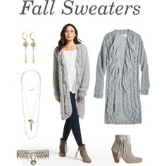 A fashion look from November 2015 featuring AYNI cardigans, HOWSTY ankle booties e Laura Cantu bracelets. Browse and shop related looks.