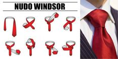 The 10 most elegant tie knots that will make you look like the king of the party party knots elegant Nudo Windsor, Windsor Knot, Eldredge Knot, Tie A Necktie, Teaching Life Skills, Tie Styles, You Look Like, Tie Knots, Mens Clothing Styles