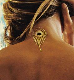 L'objet de désir du jour : le tatouage éphémère doré - Cosmopolitan.fr