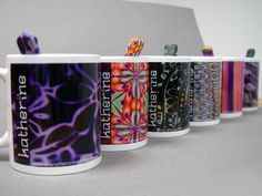 Mugs Mugs 2, via Flickr  As seen on Polymer Clay Daily http://polymerclaydaily.com/2011/12/28/promotional-polymer/  and Polymer clay diaries http://polymerclaydiaries.blogspot.com/2011/12/blog-post_29.html