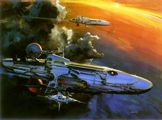 "70sscifiart: "" John Berkey """