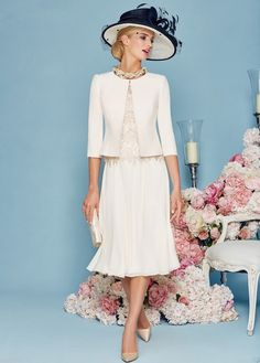 Find More Mother of the Bride Dresses Information about 2016 Latest Designs Chiffon Lace Mother Off The Bride Dresses With Jacket Half Sleeve Tea Length Wedding Mother Formal Dress,High Quality lace cocktail dress,China lace mother of the bride dresses Suppliers, Cheap lace baby dress from Galaxy Wedding Dress Co., Ltd. on Aliexpress.com