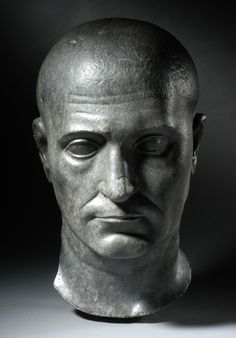 (c. 100-200 CE) Head of a Priest of Isis