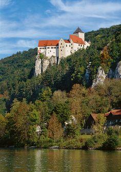 Il castello di Prunn -  Burg Prunn - Comune di Riedenburg