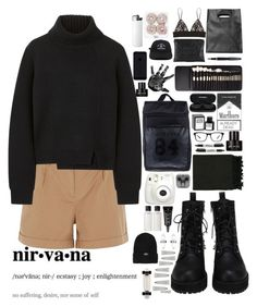 B O R E D O M by experimental-m on Polyvore featuring polyvore fashion style Proenza Schouler Oasis MSGM adidas Originals Monki Finders Keepers Amber Sceats Chanel Joseph Marc Kenneth Cole Elite Rodin Olio Lusso MAC Cosmetics Surya Fountain Fujifilm Sharpie FingerPrint Jewellry clothing