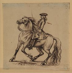 Seymour, James (1702-1752) - Horse and Rider (Courtauld Institute of Art, London) | by RasMarley