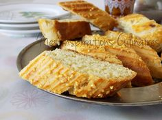 Croquants : gateau algerien Samar, Beignets, Quiche, Cookie Cutters, French Toast, Sweets, Cookies, Breakfast, Baked Goods