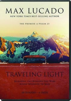 """[""""<span style=\""""font-style: normal;\"""">As we all know, it's easy to pick up extra \""""baggage\"""" on our journey through life. In this 18-part series based on his book <\/span><i>Traveling Light<\/i>, Max Lucado provides poignant teaching, real-life stories, and laugh-out-loud interviews with life's tiniest travelers. Exploring Psalm 23, he helps you release the burdens of self-reliance, worry, guilt, fear, and more.<div><br><\/div><div>Six DVDs, 9 hours total.<\/div>""""] $79.99"""