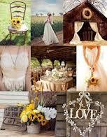 navy blue and sunflowers wedding