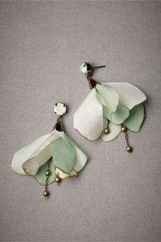 Love these earrings! Danseuse Earrings in SHOP Shoes & Accessories Jewelry Earrings at BHLDN