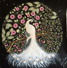 jardim secreto coruja branca - Pesquisa Google