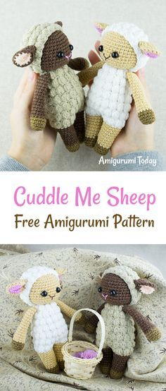 These baby sheep are looking forward to being picked up and cuddled by your little one. Every child and anyone who's young at heart will absolutely be captivated by these adorable Cuddle Me Sheep. Crochet them in your favorite colors using our Cuddle Me Sheep Amigurumi Pattern! This pattern is easy to follow with lots of step by step full color photos. It will make your next crochet project fun and easy!