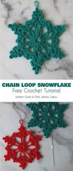 Free Crochet Snowflake Patterns, Crochet Stars, Crochet Motifs, Crochet Snowflakes, Crochet Blanket Patterns, Crochet Roses, Crocheted Flowers, Crochet Stitch, Flower Patterns
