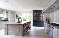 Provençal Collection of Bespoke Kitchens by Woodale Ireland Inframe Kitchen, Kitchen Mantle, Open Plan Kitchen, Kitchen Ideas, Kitchen Designs, Kitchen Pulls, Bespoke Kitchens, Luxury Kitchens, Grey Kitchens