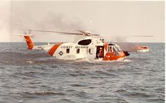'Wait is that a floating helicopter?' 'like hell it is.' A Coast Guard Pelican demonstrates its amphibious capability while rescuing a boater who has abandoned his burning vessel. Coast Guard Rescue Swimmer, Coast Guard Helicopter, Canadian Coast Guard, Us Coast Guard, Us Military Aircraft, Military Helicopter, Coast Gaurd, Emergency Vehicles, Submarines