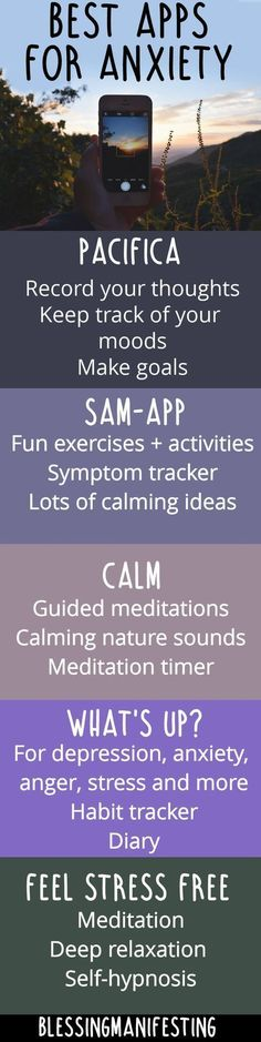 Nice ways to help cope with anxiety!