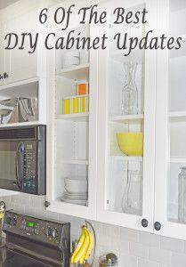6 Of the best DIY cabinet updates.