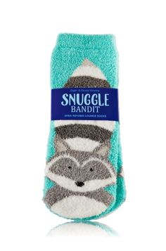 Shea infused fuzzy socks with gel(?) no slip bumps!!!! I already have the owl pair at bath and body.