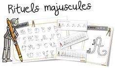 Rituels écriture : les majuscules