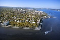 """Charleston -- """"Located on a peninsula between the confluence of the Cooper and Ashley Rivers, the city was the first English settlement in South Carolina."""""""