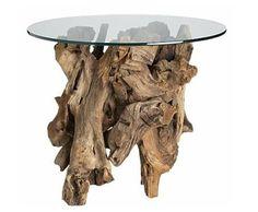 Muebles rústicos (pero originales) para tu salón