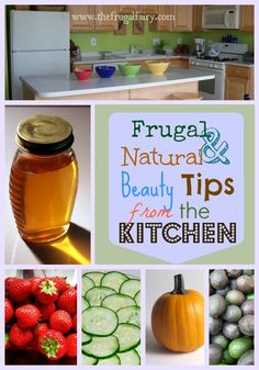 frugal and natural beauty tips