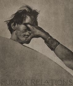 Human Relations    by William Mortensen, 1932