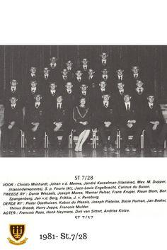 St.7.28 1981 Hoërskool Wesvalia