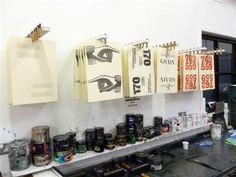 Clothes peg drying rack!